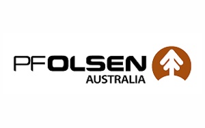 PF Olsen Australia logo